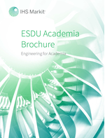 Cover of the ESDU Academia Brochure