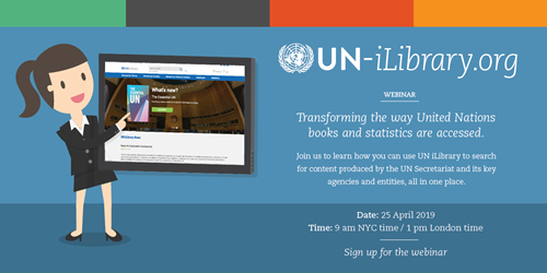 UN iLibrary flyer