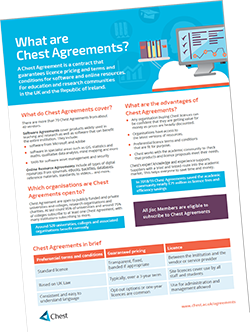 Thumbnail of What are Chest Agreements Flyer