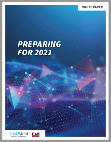 Image of front page of Flexera White Paper report